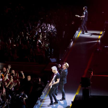 U2 concert – AccorHotels Arena